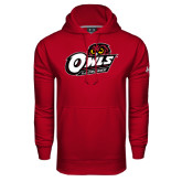 Under Armour Cardinal Performance Sweats Team Hoodie-Lacrosse