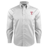 Red House White Long Sleeve Shirt-Knockout T