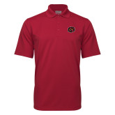Cardinal Mini Stripe Polo-Owl Head