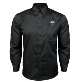 Red House Black Long Sleeve Shirt-Knockout T