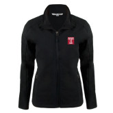 Ladies Black Softshell Jacket-Box T