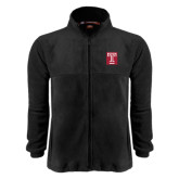 Fleece Full Zip Black Jacket-Box T