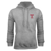 Grey Fleece Hoodie-Knockout T