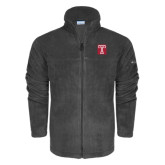 Columbia Full Zip Charcoal Fleece Jacket-Box T