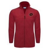 Columbia Full Zip Cardinal Fleece Jacket-Owl Head