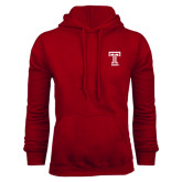 Cardinal Fleece Hood-Knockout T