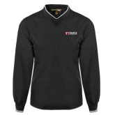 Black Executive Windshirt-University Mark