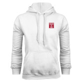 White Fleece Hoodie-Box T