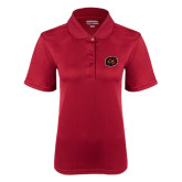 Ladies Cardinal Dry Mesh Polo-Owl Head