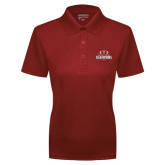 Ladies Cardinal Dry Mesh Polo-2016 AAC Football Champions