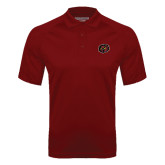 Cardinal Textured Saddle Shoulder Polo-Owl Head
