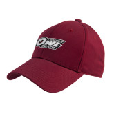 Cardinal Heavyweight Twill Pro Style Hat-Temple Owl Club