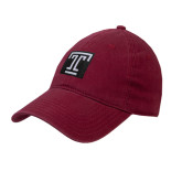 Cardinal Twill Unstructured Low Profile Hat-Box T