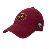 Cardinal Twill Unstructured Low Profile Hat-Owl Head