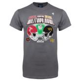 2016 Military Bowl Charcoal T-Shirt-
