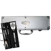 Grill Master 3pc BBQ Set-Temple University Engraved