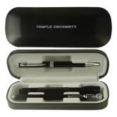 Black Roadster Gift Set-Temple University Engraved