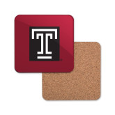 Hardboard Coaster w/Cork Backing-Box T