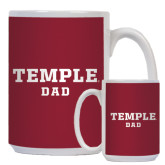 Dad Full Color White Mug 15oz-Dad