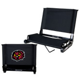 Stadium Chair Black-Owl Head