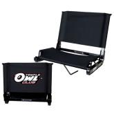 Stadium Chair Black-Temple Owl Club