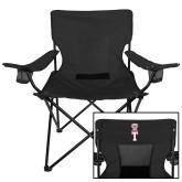 Deluxe Black Captains Chair-Vintage Owl Atop T
