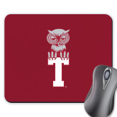 Full Color Mousepad-Vintage Owl Atop T