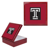 Red Mahogany Accessory Box With 6 x 6 Tile-Box T