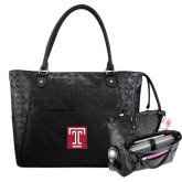Sophia Checkpoint Friendly Black Compu Tote-Box T