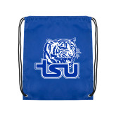 Royal Drawstring Backpack-Official Logo