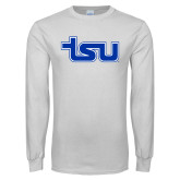 White Long Sleeve T Shirt-TSU