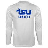 Syntrel Performance White Longsleeve Shirt-Grandpa