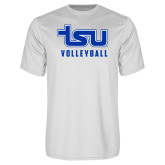 Syntrel Performance White Tee-Volleyball