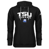 Adidas Climawarm Black Team Issue Hoodie-Arched TSU Tigers