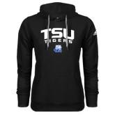 Adidas Climawarm Black Team Issue Hoodie-Arched TSU Tigers