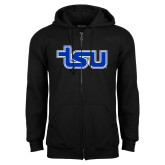 Black Fleece Full Zip Hood-TSU