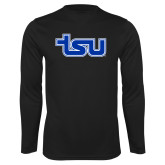 Syntrel Performance Black Longsleeve Shirt-TSU