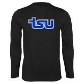 Performance Black Longsleeve Shirt-TSU
