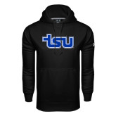 Under Armour Black Performance Sweats Team Hood-TSU