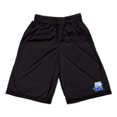 Midcourt Performance Black 9 Inch Game Short-Official Logo