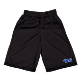 Russell Performance Black 9 Inch Short w/Pockets-TSU