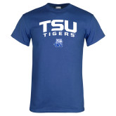 Royal T Shirt-Arched TSU Tigers