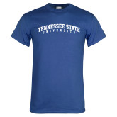 Royal T Shirt-Arched Tennessee State University