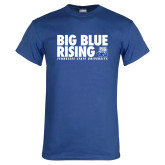 Royal T Shirt-Big Blue Rising