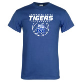 Royal T Shirt-Tennessee State Tigers Volleyball Stacked