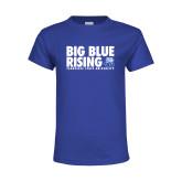 Youth Royal T Shirt-Big Blue Rising