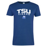 Ladies Royal T Shirt-Arched TSU Tigers