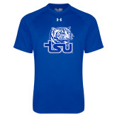 Under Armour Royal Tech Tee-Official Logo