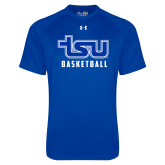 Under Armour Royal Tech Tee-Basketball