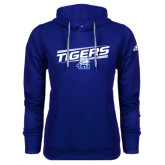 Adidas Climawarm Royal Team Issue Hoodie-Tigers Slanted w/ Logo